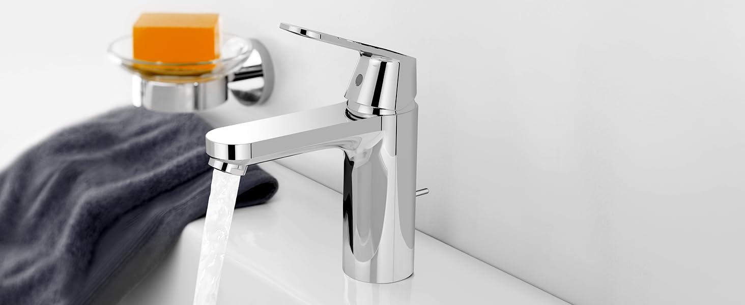 Grohe Eurosmart 2337700E S Grifo de lavabo con vaciador autom/ático