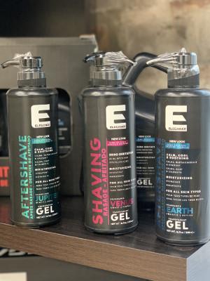scented shave gel, shaving gel, fragrance shaving gel, barber shave gel