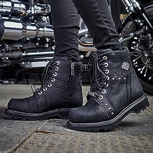 Femmes Harley Davidson Bottes OAKLEIGH