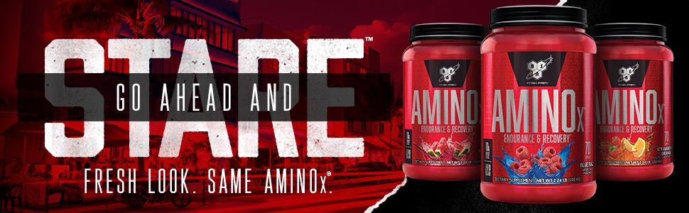 AMINOx is a stimulant free, BCAA formula. Effervescent Instantized Amino Acids