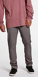 slim fit chino pants khakis cotton modern