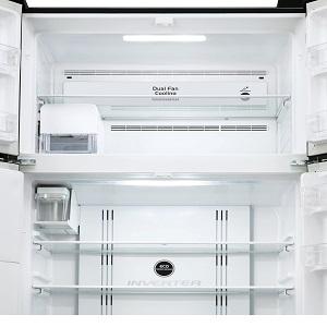 Hitachi Bright, Energy-Saving LED Light,Hitachi Refrigerator , 2 Door Refrigerator, Freezer, Fridge,