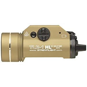 Streamlight 69266 TLR-1 HL Rail-Mounted Tactical Light, Flat Dark Earth
