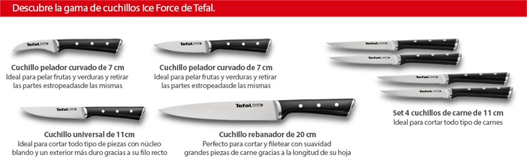 Tefal Ingenio Ice Cuchillo pelador, Acero Cepillado, Negro, 9 cm