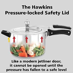 Hawkins Stainless Steel Pressure Cooker 2 Litre,Hawkins pressure cooker,Pressure Cooker,Cooker