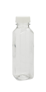 Don't worry about juices leaking or spilling out with these clear plastic juice bottles.