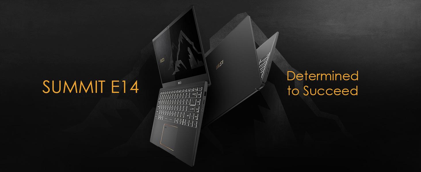 Summit E14 business laptop