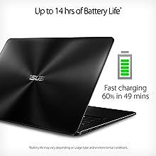 ASUS ZenBook UX550VE-DB71T 15.6-inch NanoEdge FHD touch PCIE NVMe Backlit keyboard Laptop