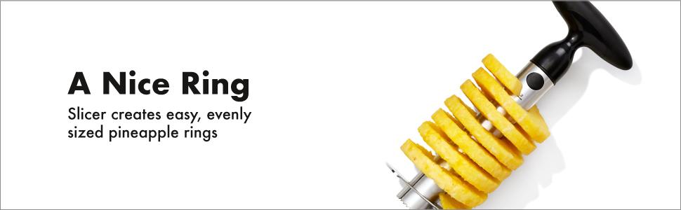 OXO Good Grips Stainless Steel Pineapple Corer & Slicer