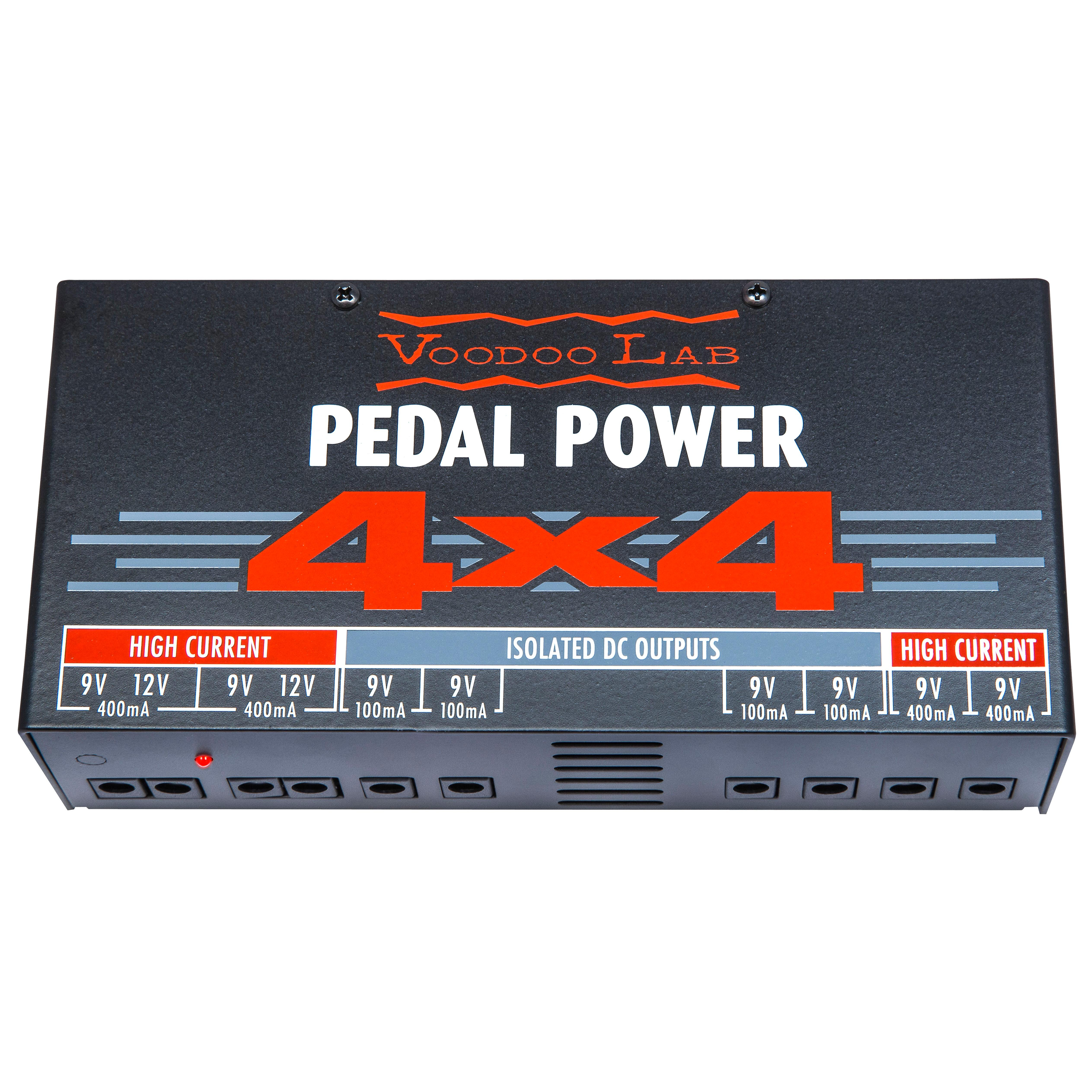 voodoo lab pedal power 4x4 isolated power supply musical instruments. Black Bedroom Furniture Sets. Home Design Ideas