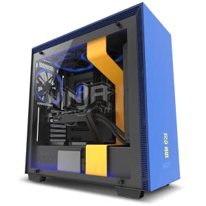 NZXT H700i - Licensed Ninja Edition - ATX Mid-Tower PC Gaming Case - Radium-Etched Ninja Logo - RGB and Fan Control - Enhanced Cable Management System ...