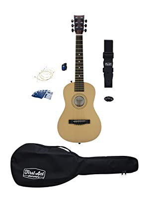 first act discovery acoustic guitar starter pack fad0137 musical instruments. Black Bedroom Furniture Sets. Home Design Ideas