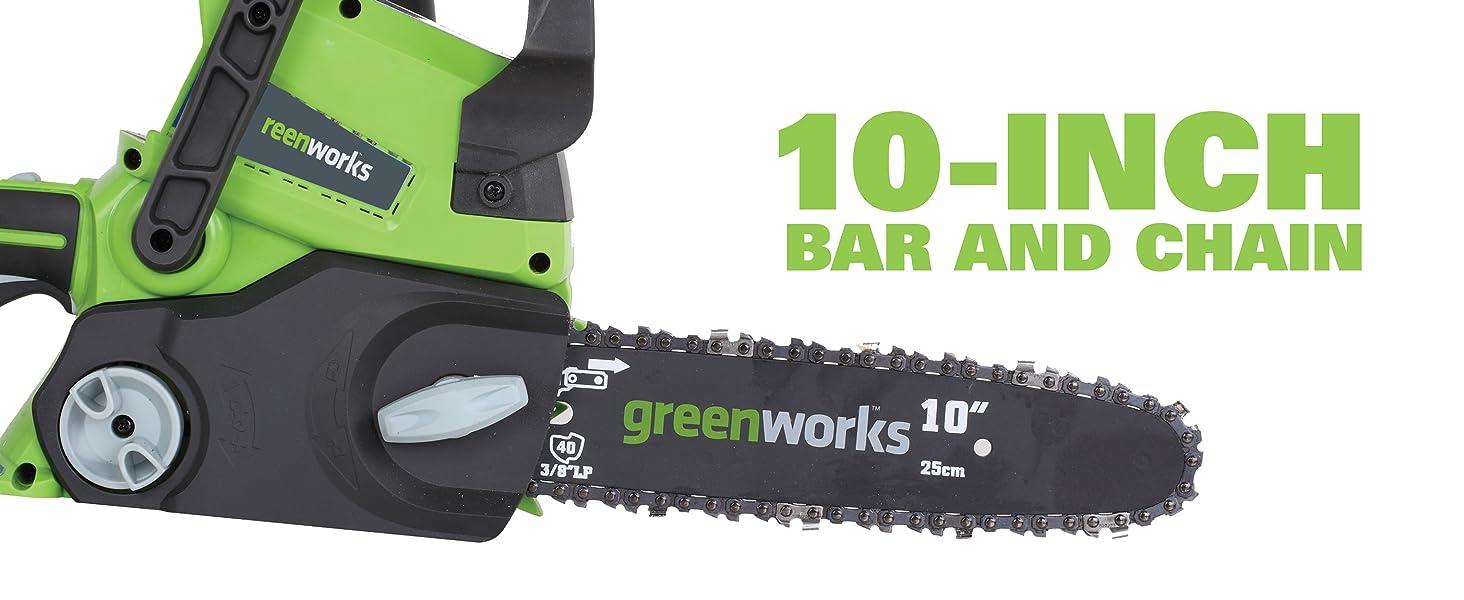 10 inch chainsaw