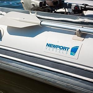 Newport Vessels L-Series 62lb/86lb Thrust Transom Mounted Saler Electric on