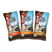 CHOCOLATE HAZELNUT BUTTER CLIF BAR ENERGY BAR NUT BUTTER FILLED USDA ORGANIC PEANUT BUTTER