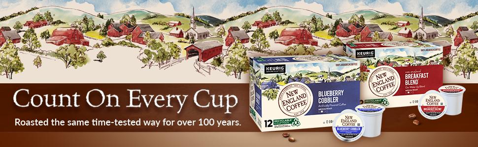 New England Coffee KCups