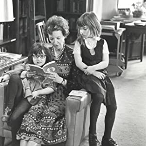 L'Engle with her granddaughters Charlotte Jones Voiklis and Lena Roy