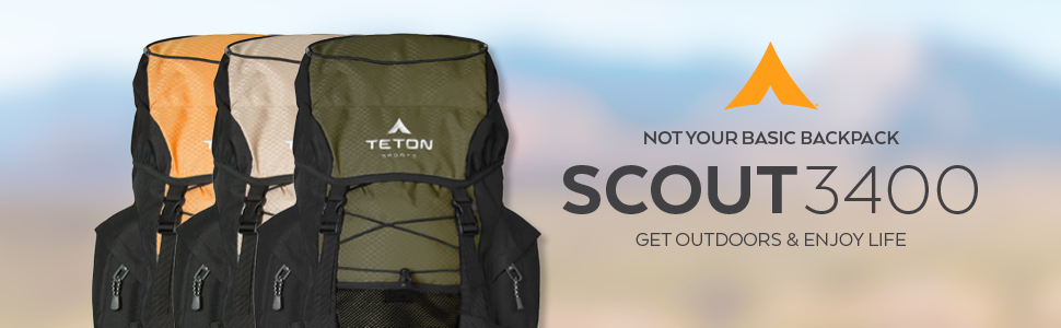 The Scout3400 by TETON Sports is not your basic backpack. It's built for the most rugged adventures.