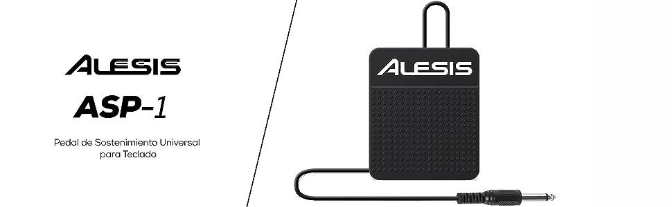 Alesis pedal de sostenimiento sencillo professional sintetizador controlador MIDI batería electrónic
