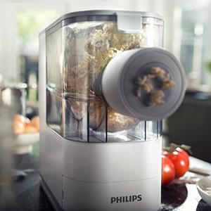philips viva pasta maker, best pasta maker, quick, fresh, compact,
