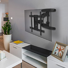 suporte tv, parede, elg, multiarticulado, articulado, tv suporte