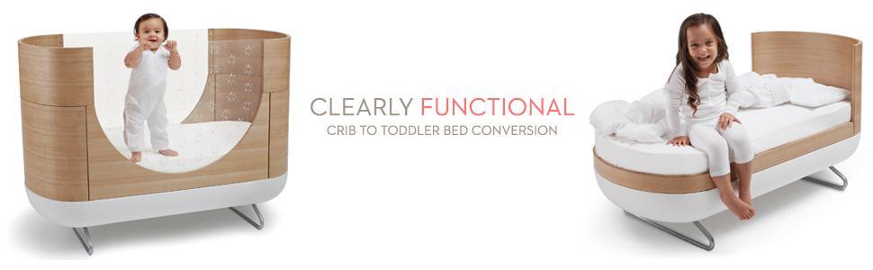 Amazon Com Pod 2 In 1 Convertible Crib Baby
