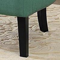 Amazon Com Homelegance Charisma Accent Arm Chair Teal