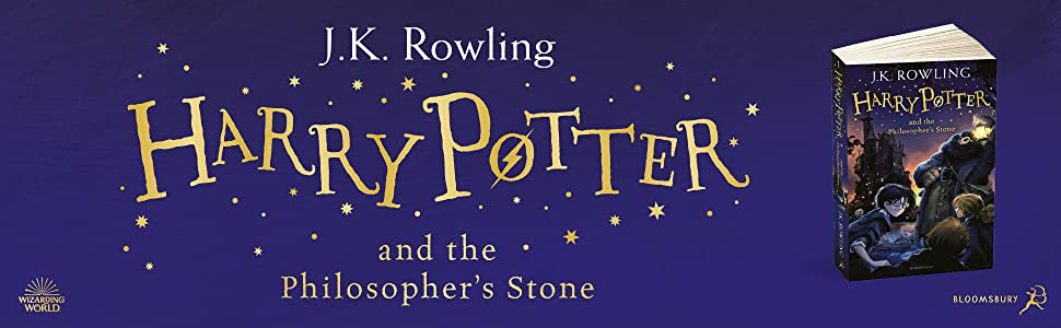 Harry Potter and the Philosopher's Stone, JK Rowling, Magic, Fantasy, Bestseller, Children's Books
