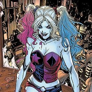 harley quinn joker gotham arkham asylum batman super villain arlequin suicide squad justice league