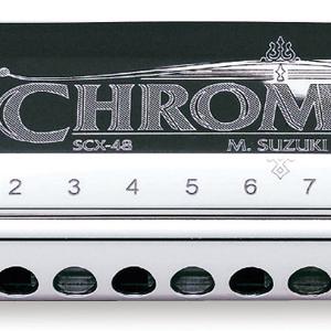 suzuki, harmonica, chromatics, chromatix, professional, 12 hole, 14 hole, 16 hole, hohner, swan, 64