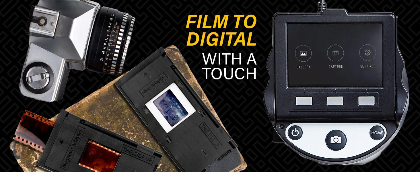 KODAK SCANZA Digital Film