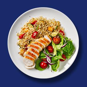 Chicken, Rice, Vegetables, Recipe, Easy, Quick, Convenient, Uncle Ben's