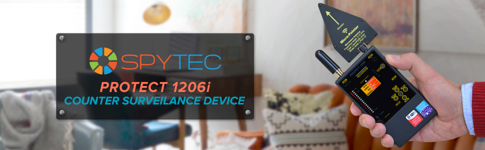 Portable bug hidden camera detector