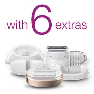 1 device. 6 extras.
