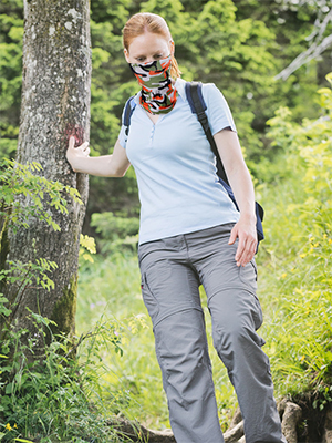 Camouflage Sun UV Protection face mask for hiking outdoor sport