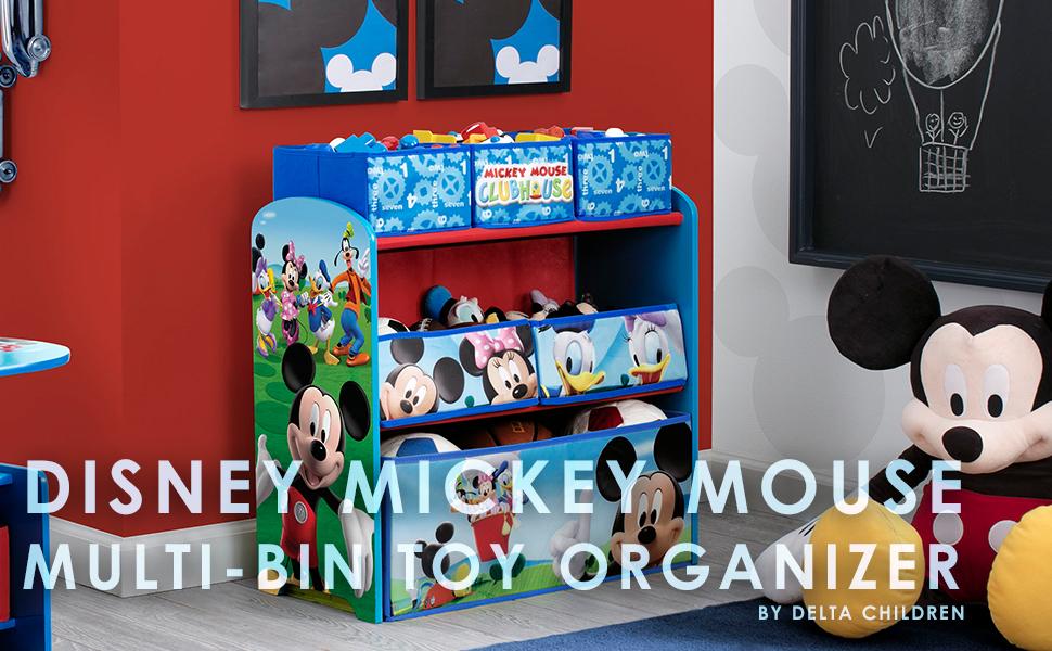 Amazon Com Delta Children 6 Bin Toy Storage Organizer