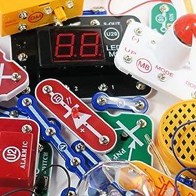 Amazon Com Snap Circuits Arcade Electronics Exploration