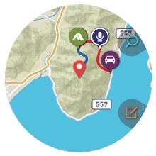 location memory map