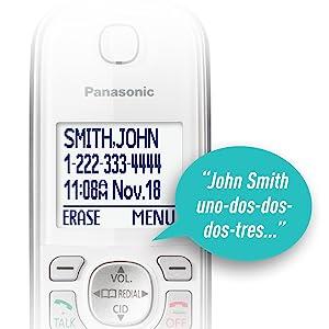Panasonic KX-TGD533W caller ID