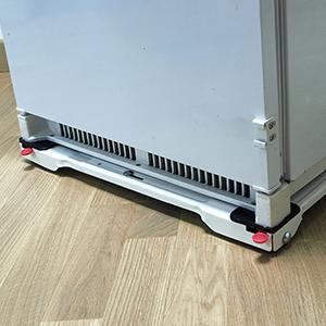 Masidef te40 carrello a telaio estensibile sposta tutto ideale per mobili ed elettrodomestici - Carrello sposta mobili ...