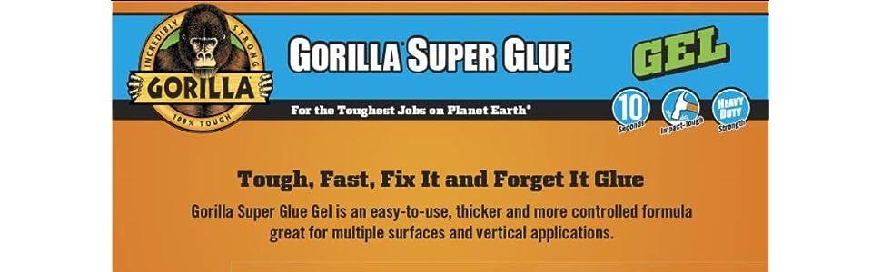 Gorilla 7600101-2 Super Glue Gel /(2 Pack/), 15 g Christmas Ornament