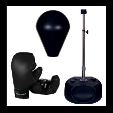 BOXING GLOVE, BALL, STAND
