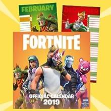 FORTNITE Official 2019 Calendar: Amazon co uk: Epic Games: Books