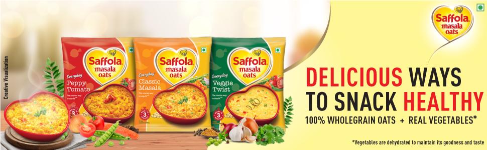 oats,masala oats,oats for breakfast,oats,saffola,saffola oats,vegetable oats,masala oats saffola