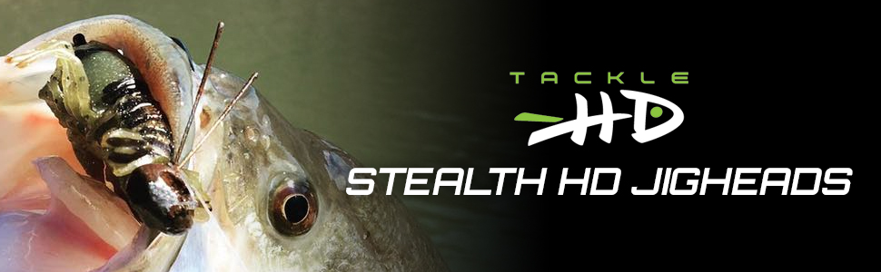 Stealth HD 3 Pack 5//16 Ounce Details about  /Tackle HD Jig Head Fishing Hooks Green Pumpkin
