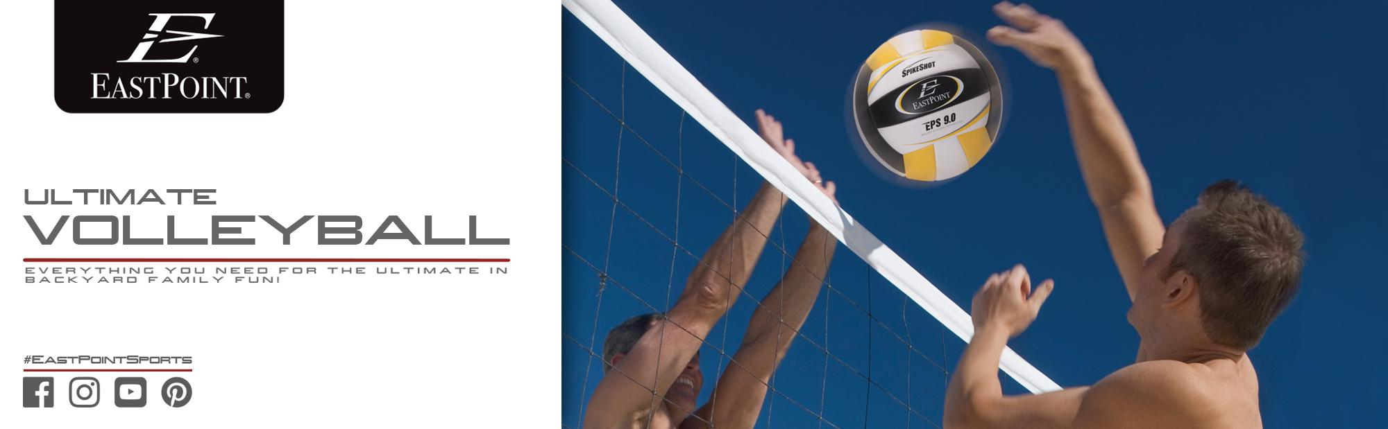 amazon com eastpoint sports ultimate volleyball set swimming