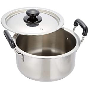 プラ柄 厚板実用鍋