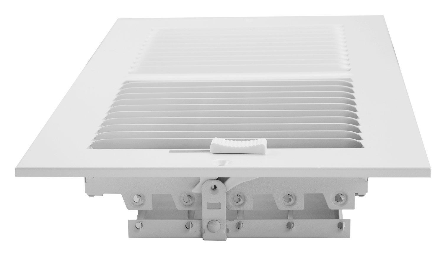 Accord Abswwh2126 Sidewall Ceiling Register With 2 Way