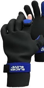 821BK Pro Angler fishing gloves