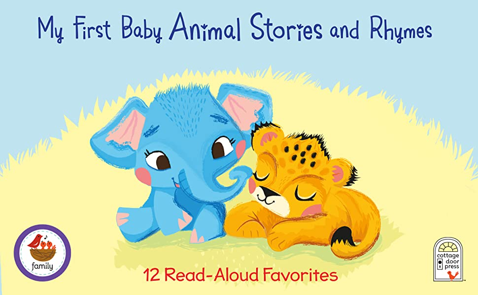 animal stories and rhymes padded treasury childrens board book for 2 3 4 5 year olds family reading